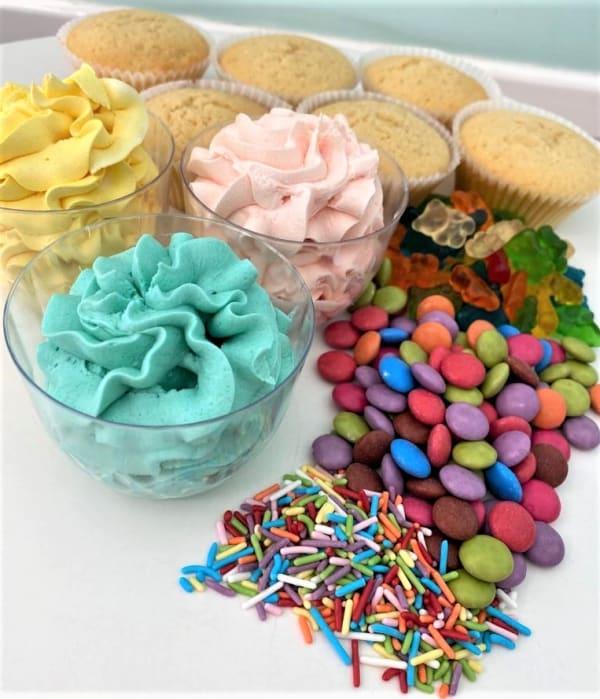 Kit cupcake