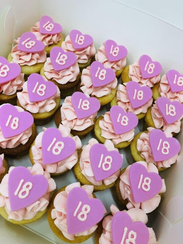 Milestone Birthday Cupcakes sydney