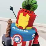 Avengers Cake by the cupcake princess sydney
