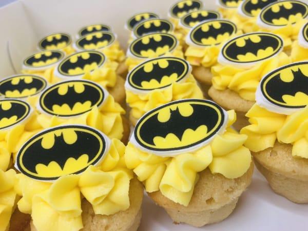 Single Superhero Cupcakes sydney