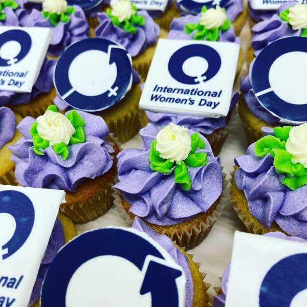 International Womens day Cupcakes sydney