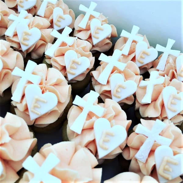 Christening cupcakes sydney