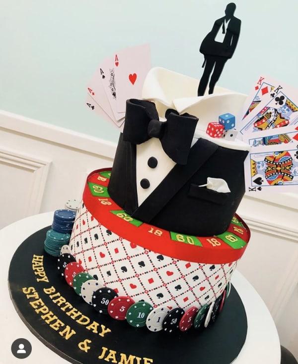 Casino Royal Cake