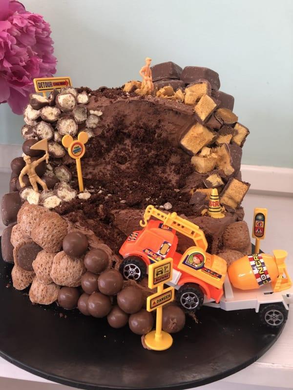 Construction Site Cakes