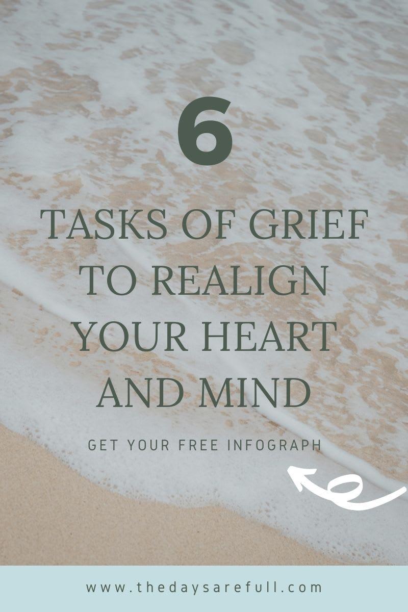 6 Tasks of Grief Blog Graphic