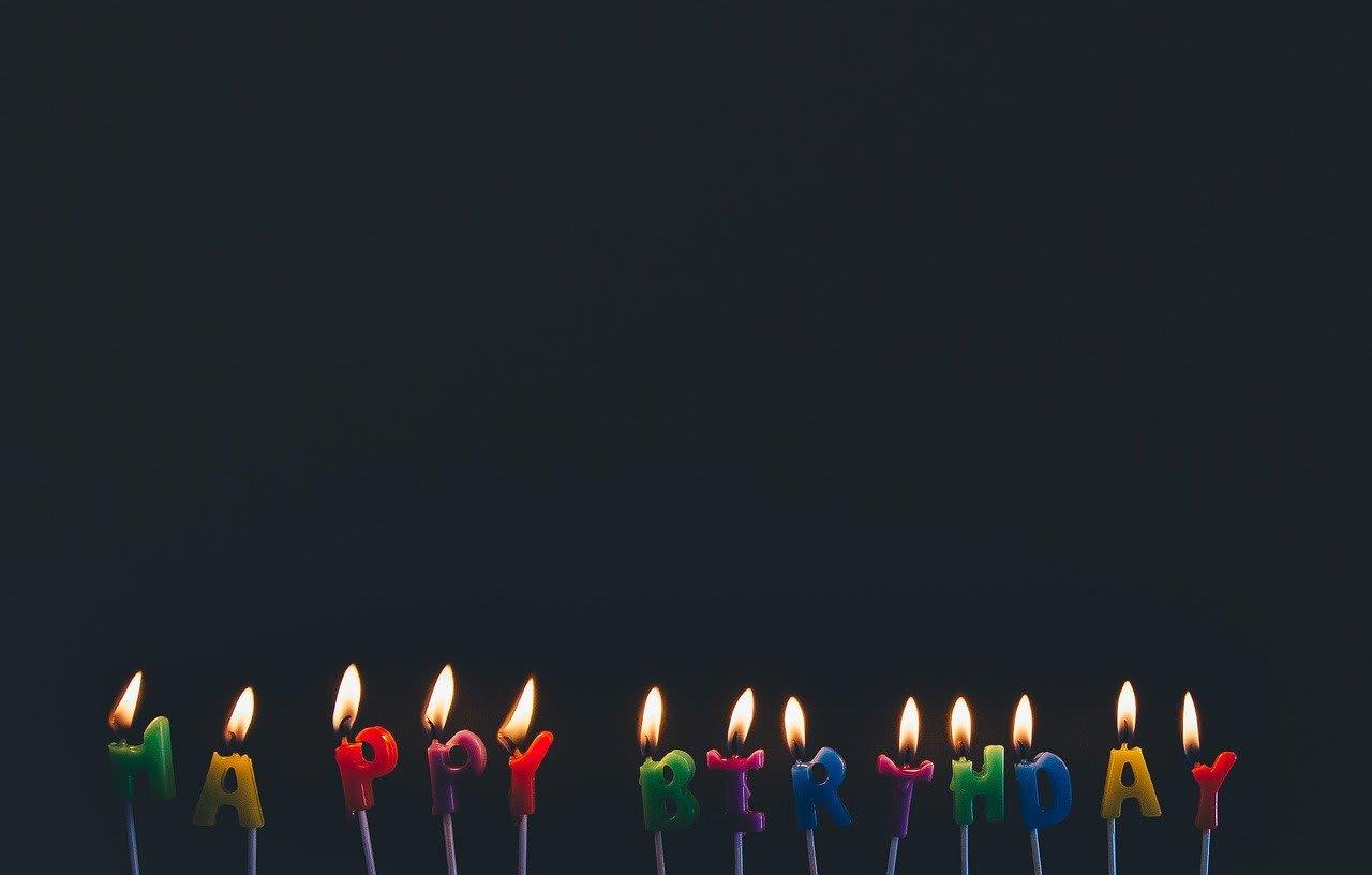 happy birthday to my dear dead husband
