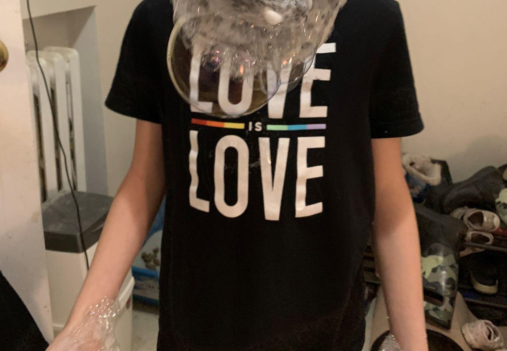 foam bubbles