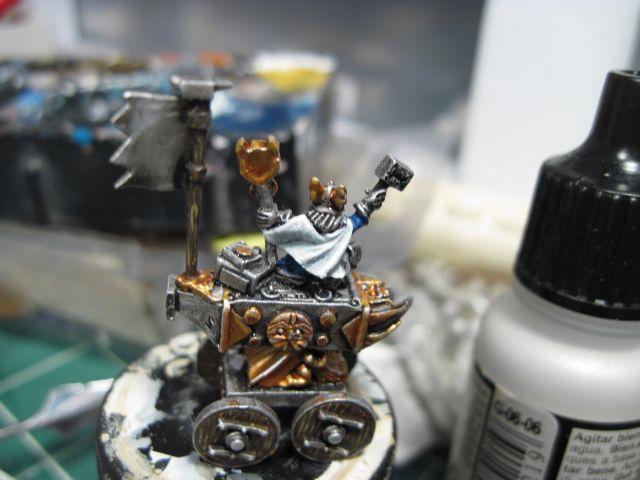 Warmaster Dwarf Anvil of Doom