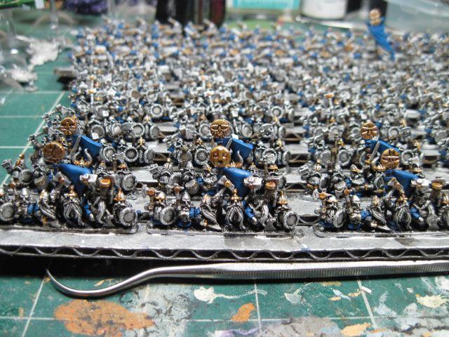 Warmaster Dwarf Warriors