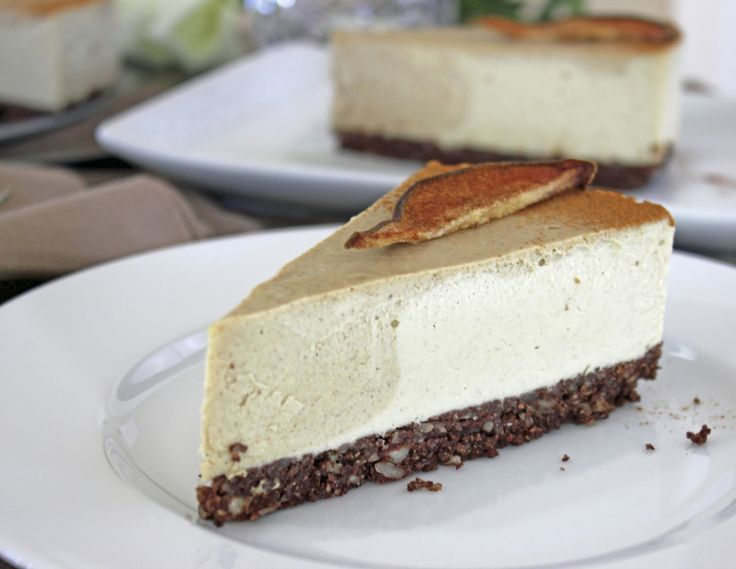 Pear Ginger Cheese Cake