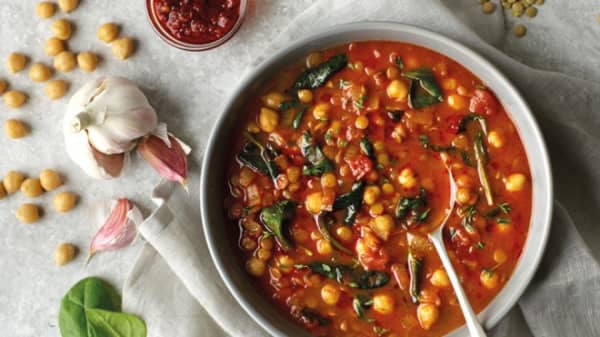 Moroccan Chickpea Soup 1