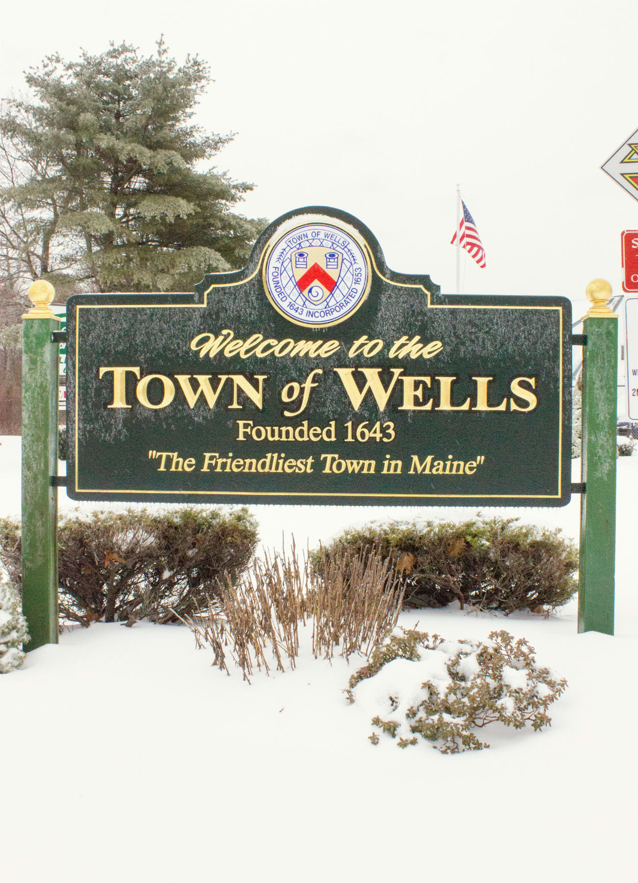 Welcome to the town of wells