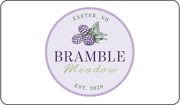 Bramble Meadow Button