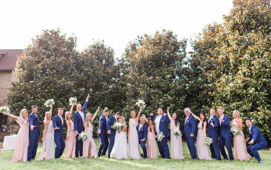 Lane and Chelsea - Real Weddings by The Groomsman Suit