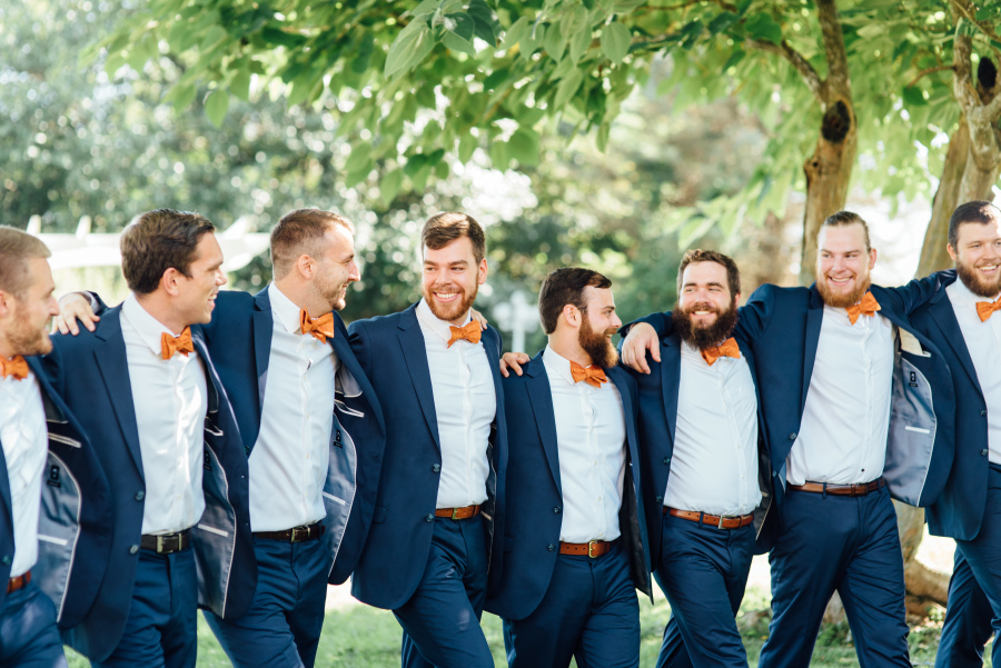 Cody and Stephanie - Real Weddings by The Groomsman Suit