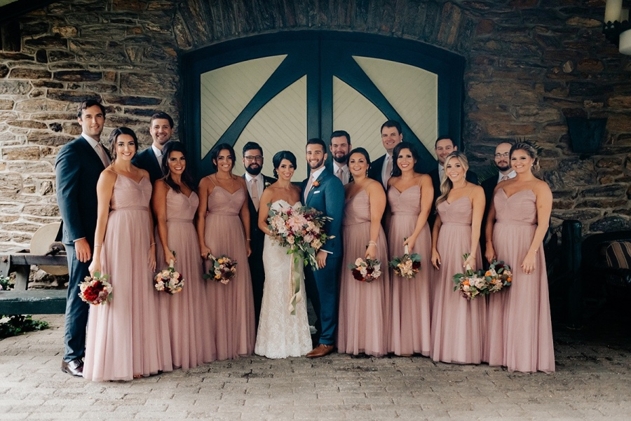 Max and Melissa - Real Weddings by SuitShop