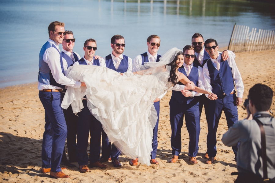 Brad and Rica - Real Weddings by SuitShop