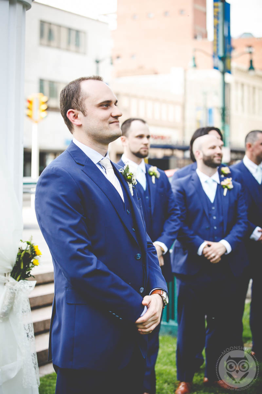 Mark and Katie - Real Weddings by The Groomsman Suit