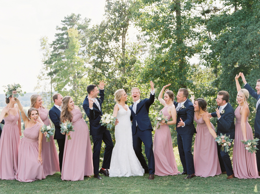 Tyler and Olivia - Real Weddings by SuitShop