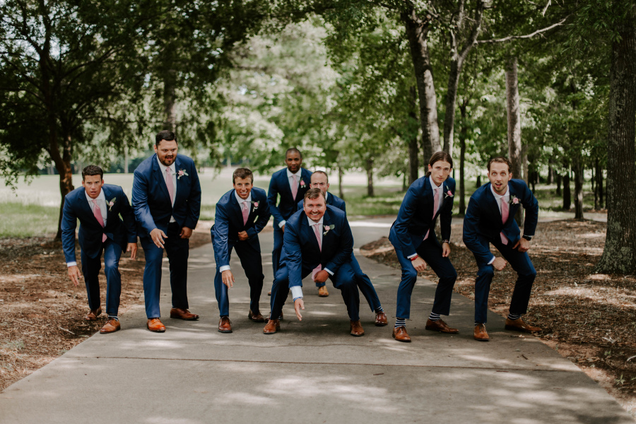 Ryan And Holly - Real Weddings by SuitShop