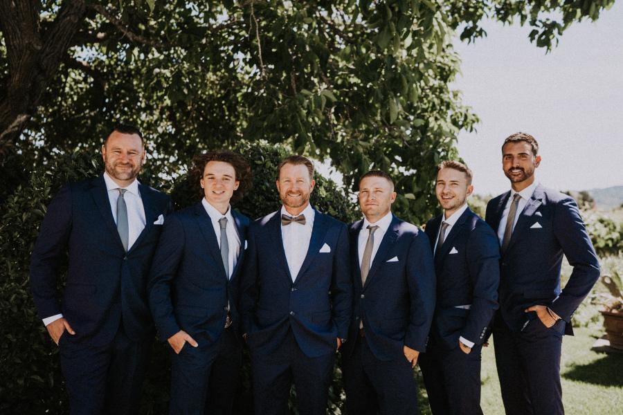 Steven And Elizabeth - Real Weddings by The Groomsman Suit
