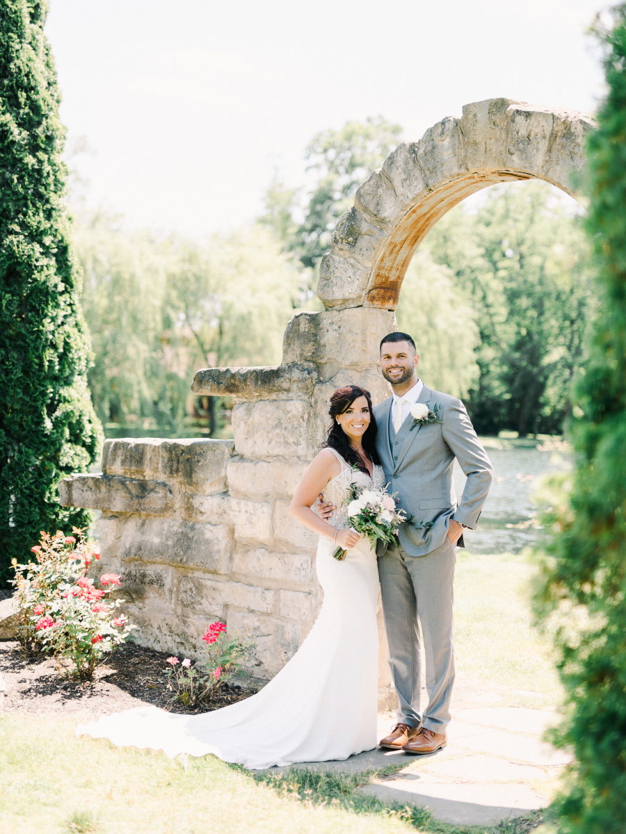 Adam and Christina - Real Weddings by The Groomsman Suit