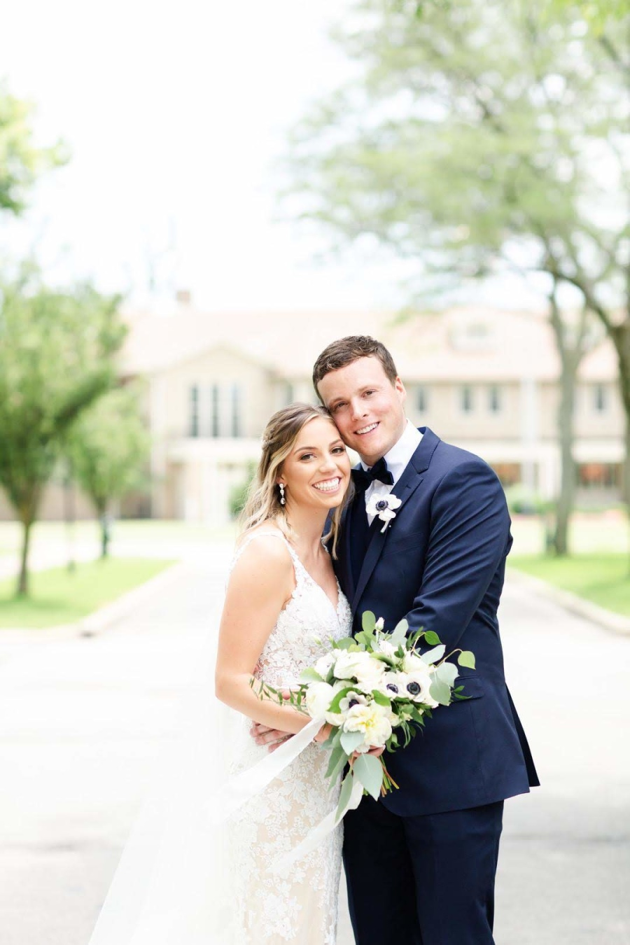 Kayley and Alastair - Real Weddings by The Groomsman Suit