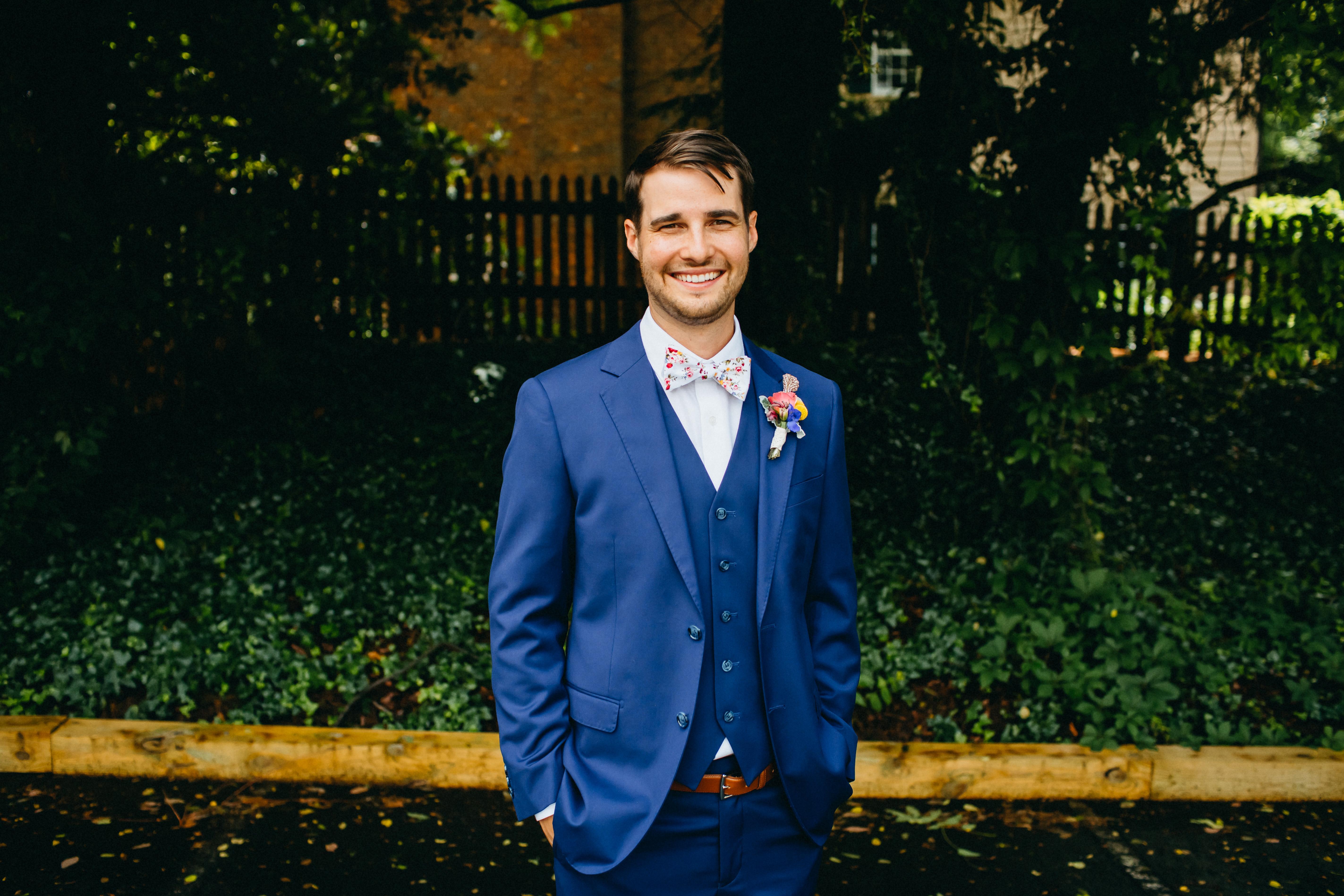 Mike and Rachel - Real Weddings by The Groomsman Suit