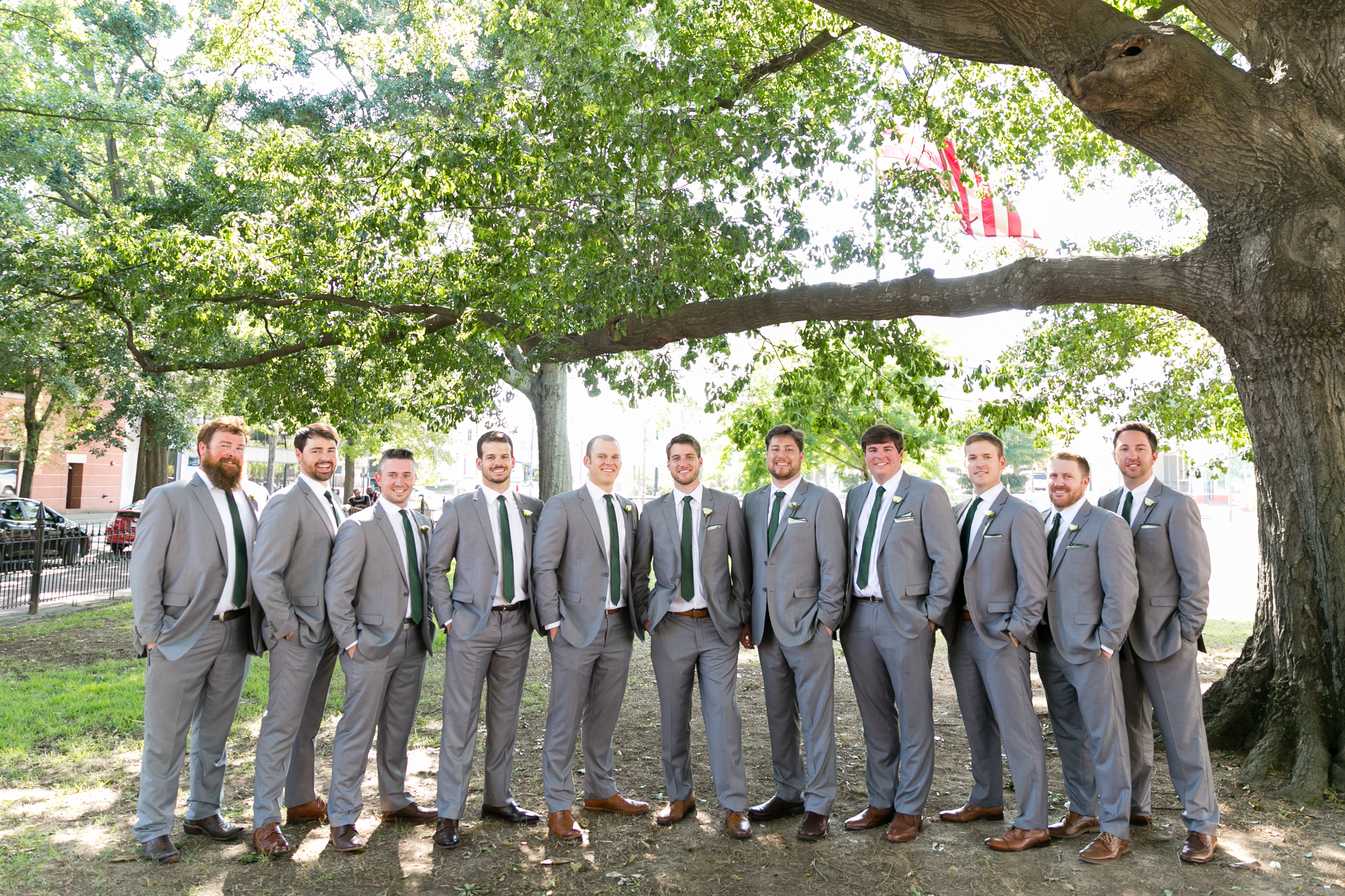 Patrick and Taylor - Real Weddings by The Groomsman Suit