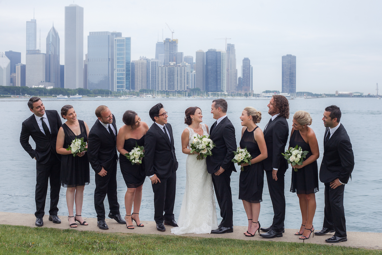 Brandon and Emily - Real Weddings by SuitShop