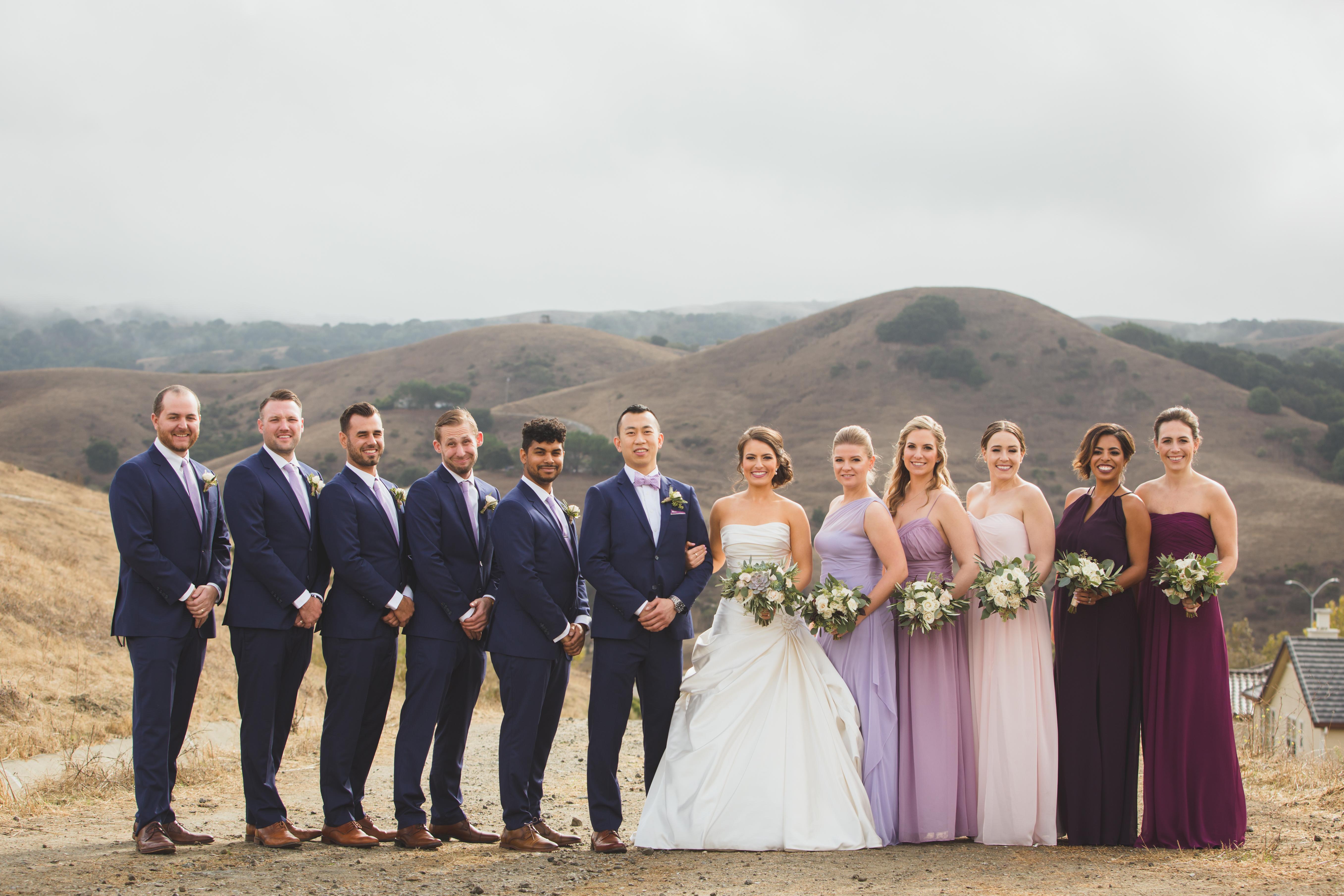 Robert and Kelsey - Real Weddings by The Groomsman Suit