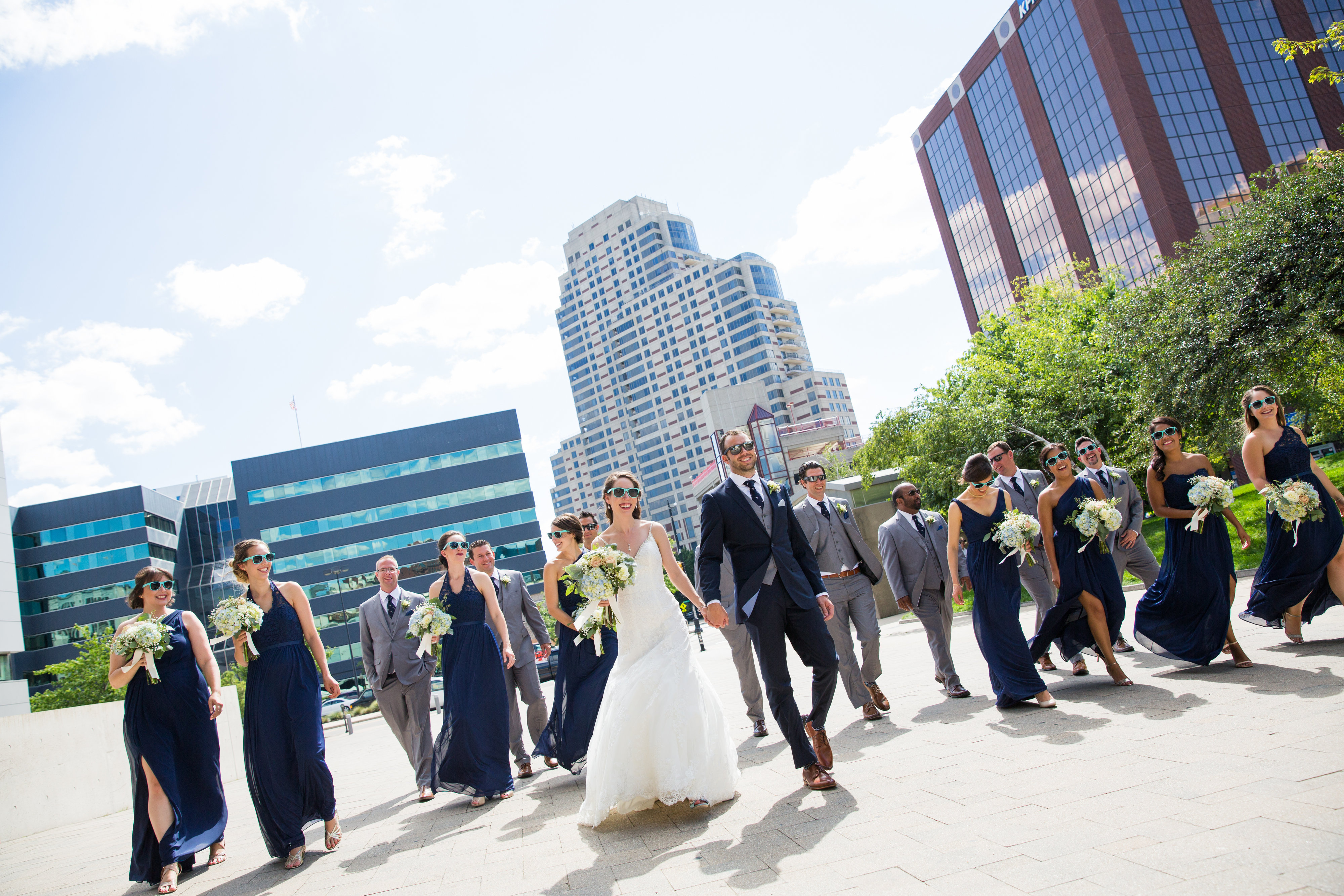 Jonathan and Liese - Real Weddings by The Groomsman Suit