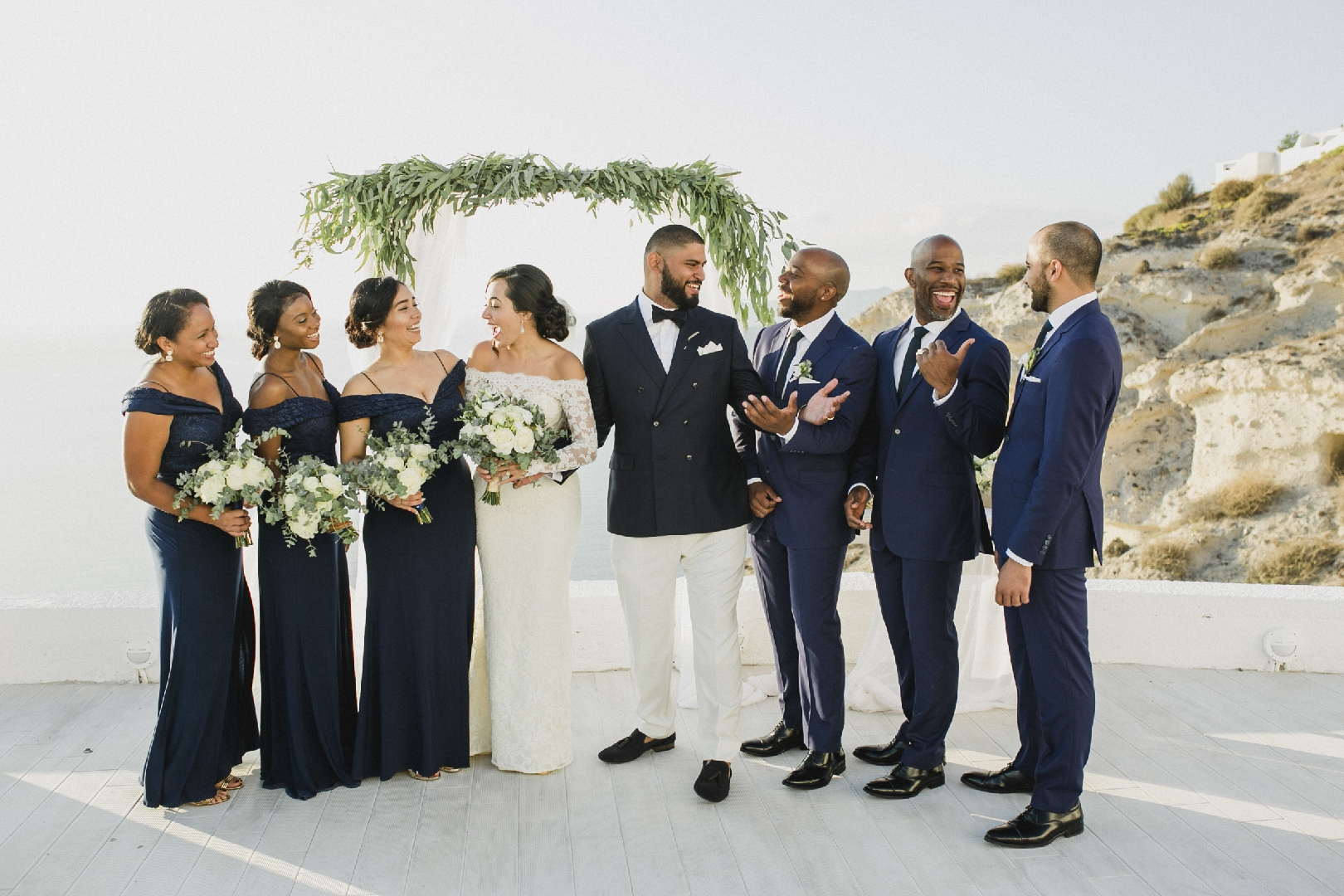 Ronald and Lauren - Real Weddings by The Groomsman Suit