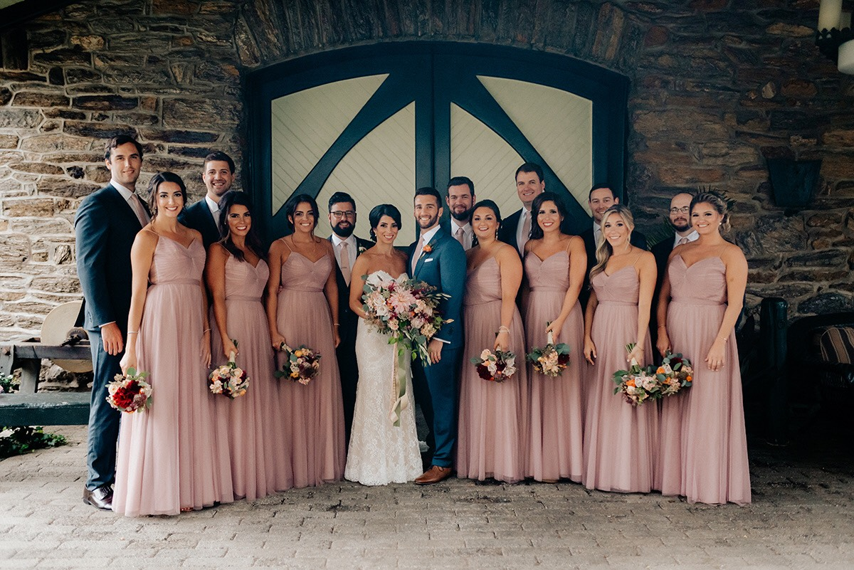 Max and Melissa - Real Weddings by The Groomsman Suit