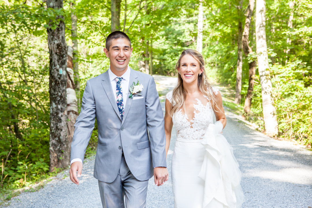 Brian and Casey - Real Weddings by The Groomsman Suit