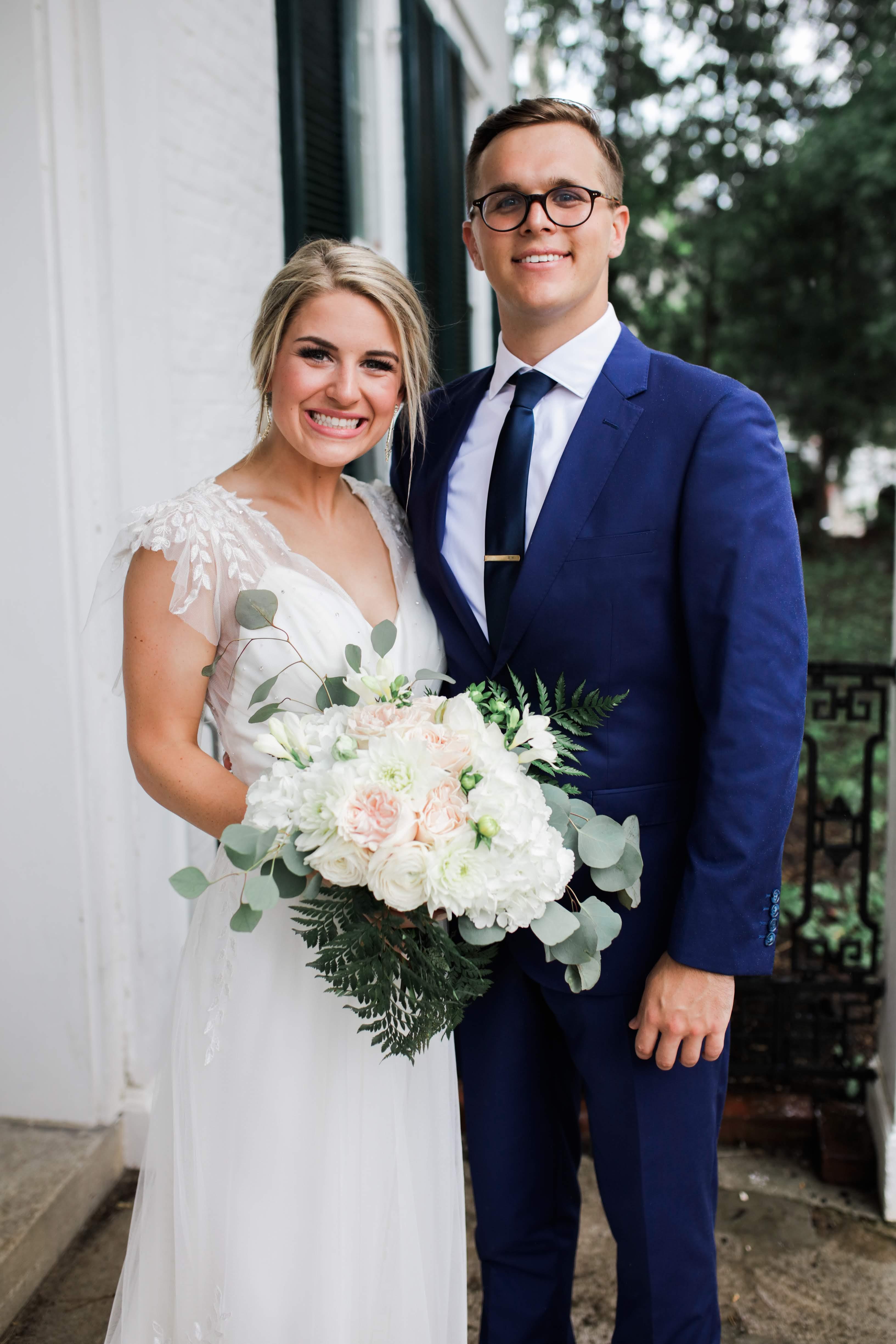 Dakota and Caroline - Real Weddings by The Groomsman Suit