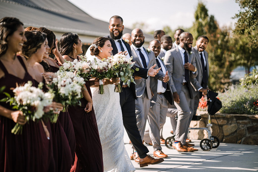 Monica and James - Real Weddings by The Groomsman Suit