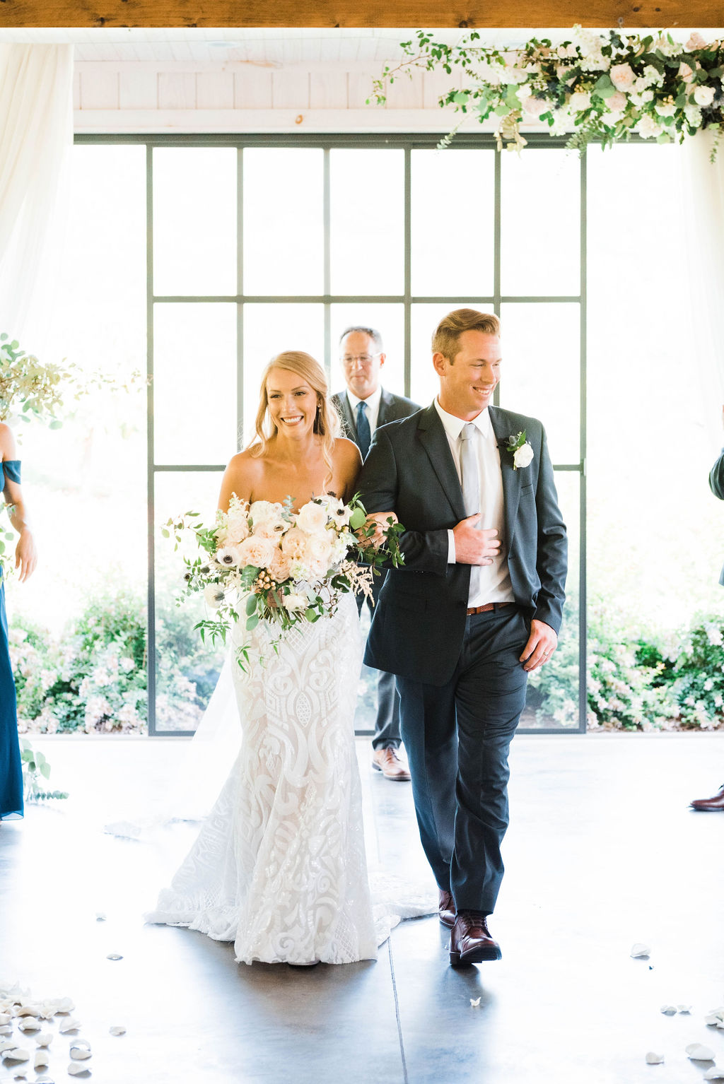 Tatum and Brett - Real Weddings by SuitShop