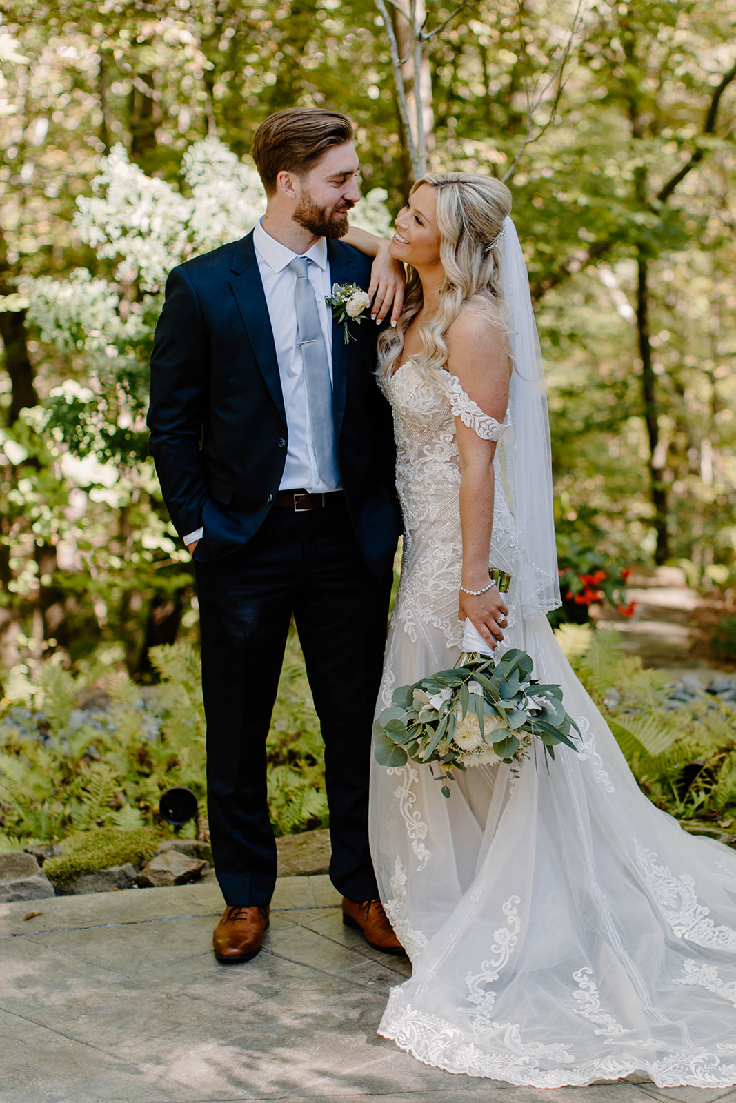 Jenna and Evan - Real Weddings by The Groomsman Suit