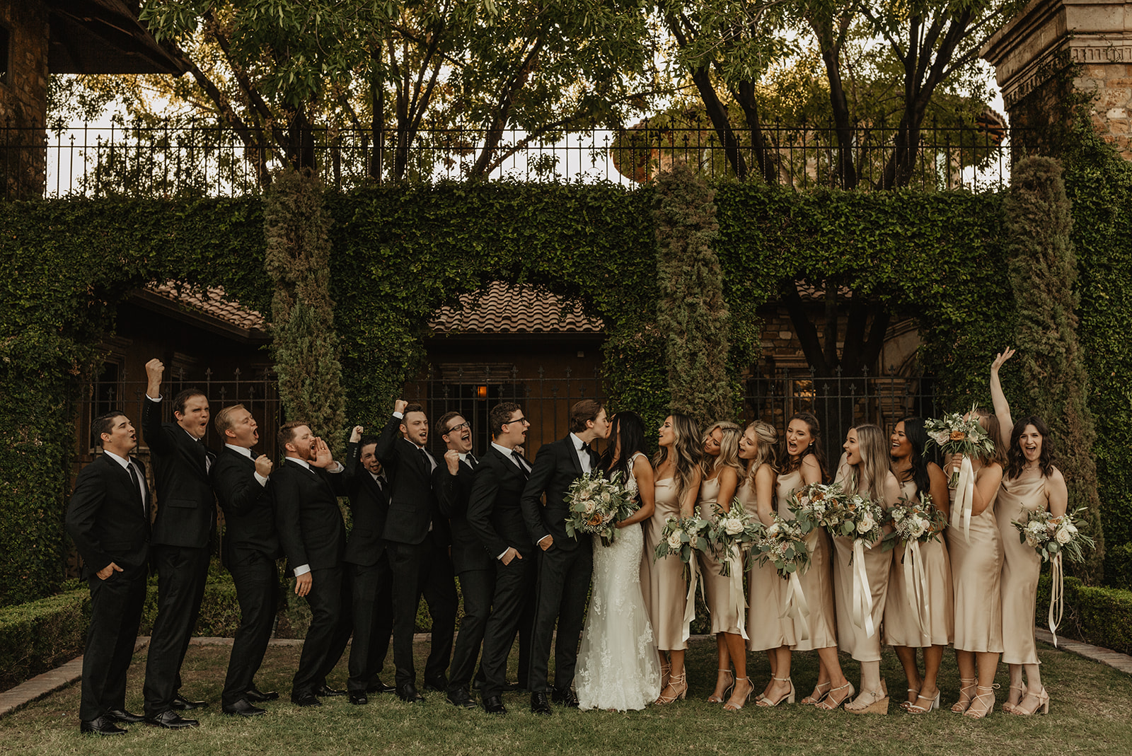 Joel and Mia - Real Weddings by The Groomsman Suit