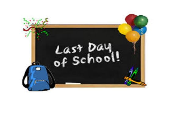 May 27th, 12:50pm  Last Day of School & Early Release