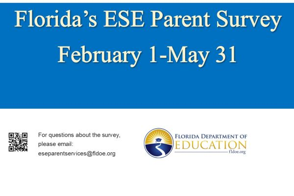 ESE Parent Survey Click here for more information