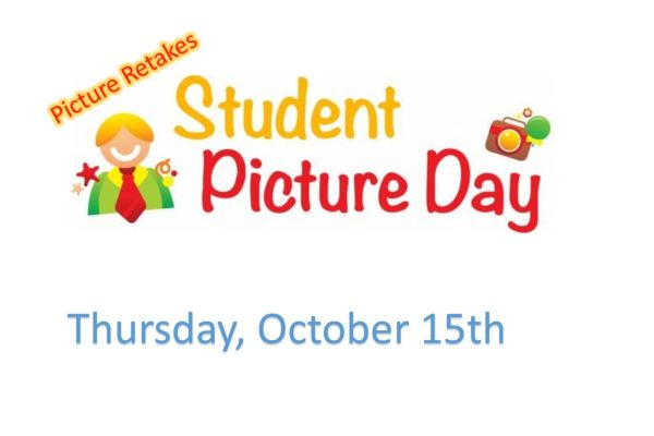 Student Picture Retakes, Thursday, October 15th