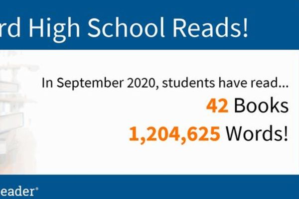 September Reading Numbers
