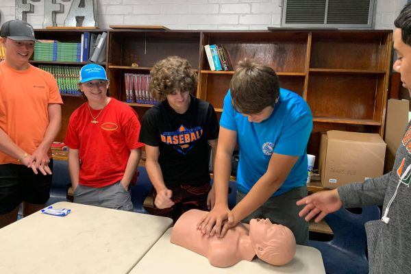 BHS Hosts Farm Safety Class