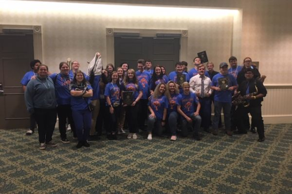BHS BETA Club Competes at 2020 State Convention