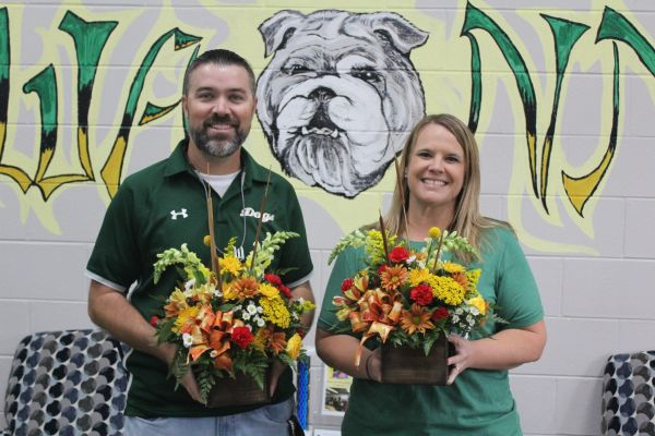 Laura Williams and Hunter Abercrombie Named Principal and Assistant Principal of the Year