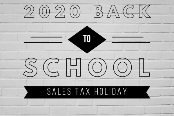 2020 Back to School Sales Tax Holiday Information