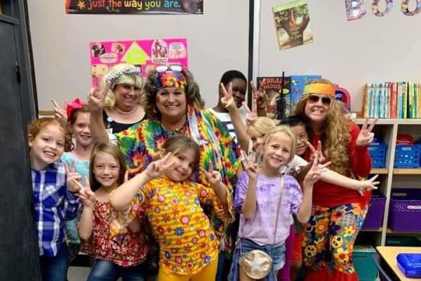Homecoming Week Fun: Decades Day!
