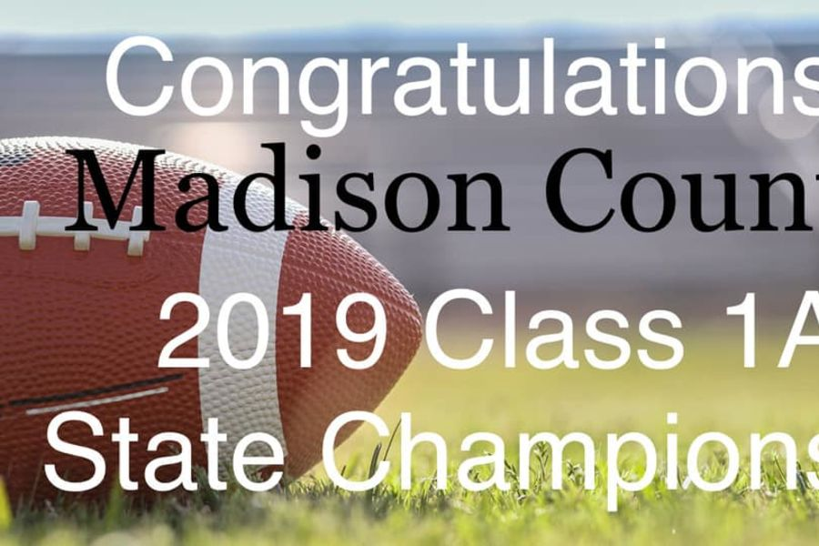 MCHS Cowboys 2019 Class 1A State Champions